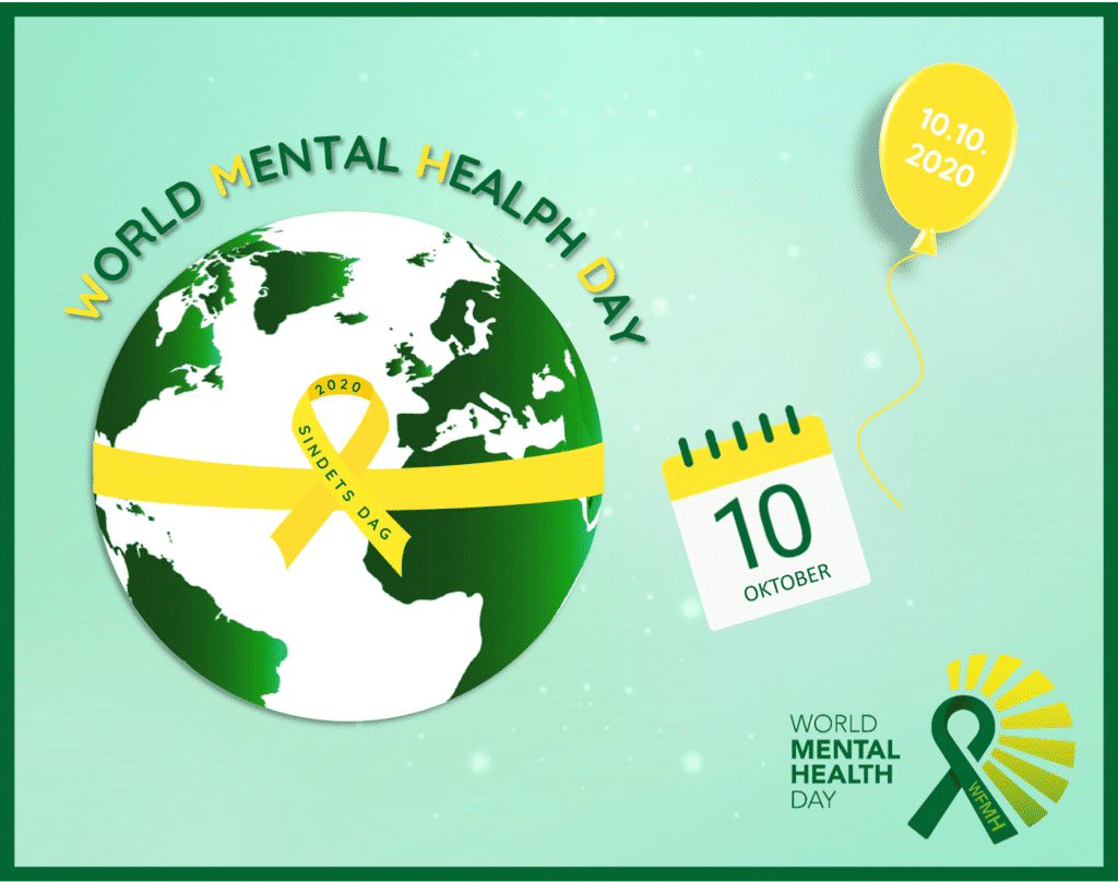 Sindets Dag 2020 - World Mental Health Day #wmhd