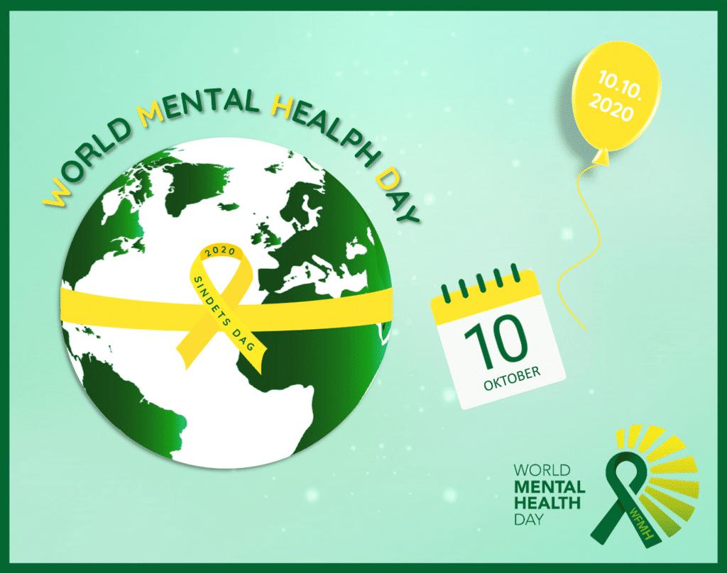 Sindets Dag 2020 - World Mental Health Day #wmhd