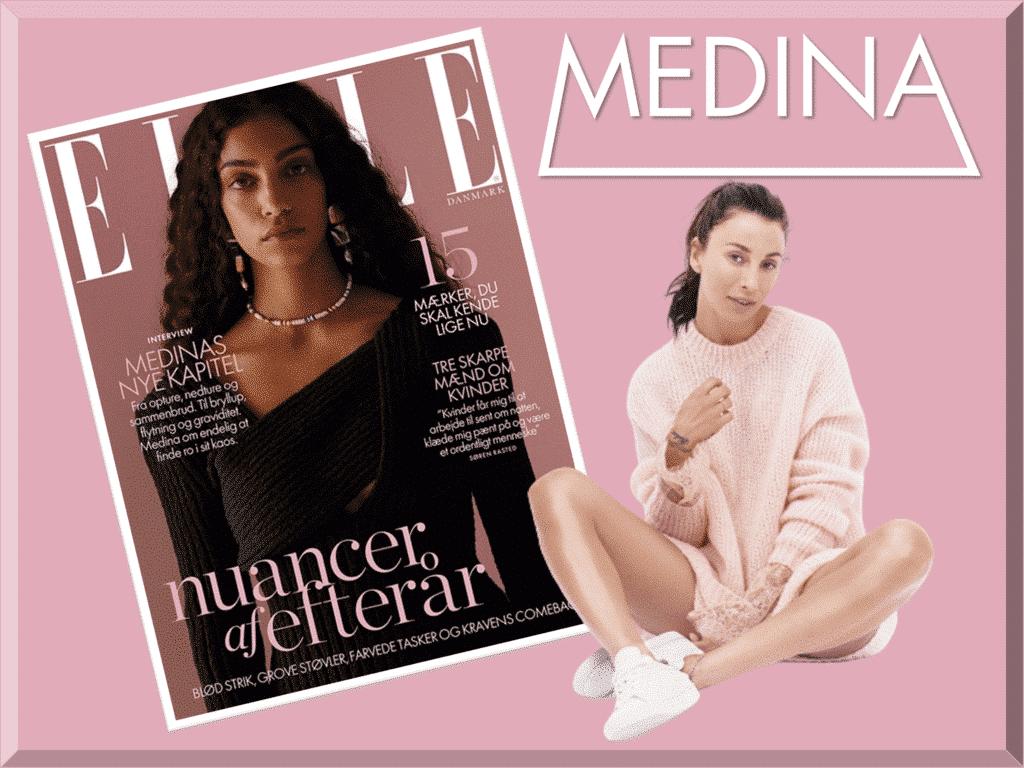 Medina om sin lillesøster: »Jeg vil gøre ALT i verden for, at hun skal få et godt liv«, interview ELLE oktober 2020.