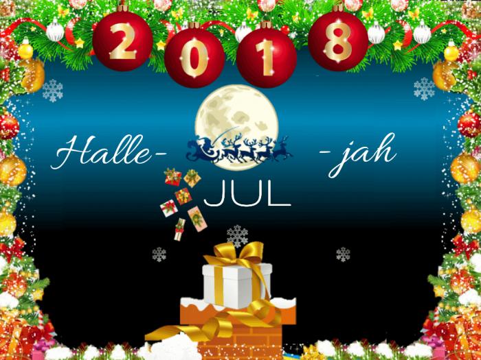Halle-JUL-jah ❤️